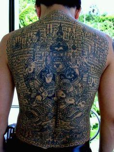 1000 images about thai tattoos sak yant on pinterest for Sak yant tattoo rules