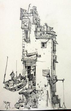Ian McQue Sketch - Service: pic.twitter.com/Iu48Y2dA9u