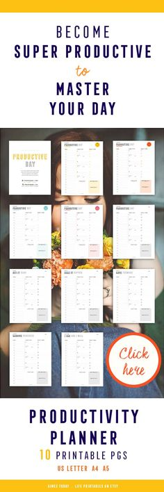 I highly recommend using a planning tool to get yourself organised every day! From one scattered mind to another, this productivity planner helps me stay away from overwhelm and actually complete the important stuff!