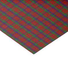 Clan Robertson Tartan Tissue Paper