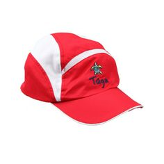 a1670931d92 TUGA Adult CoolPlus Mesh Runners Hat in RED. Tuga Sunwear · Adult UV  Protection ...