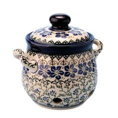 GARLIC KEEPER...polish stoneware