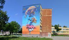 Artist : 140 Ideas. Place : Sofia, Bulgaria. Tags : street Art, graffiti, urban culture.