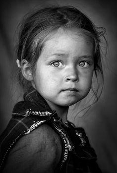 Celtic girl - Street portrait...