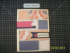 ♥ Sweet! This card is in a contest on my blog - check it out today - Contest ends April 5! - Close to my Heart - CTMH