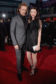 'Outlander' stars Caitriona Balfe and Sam Heughan