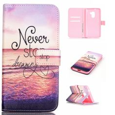 """SsHhUu Lenovo Vibe K4 Note Case, [Dreaming & Sea] Magnetic Stand Card Slot PU Leather Flip Protective Wallet Slim Painting Art Cover For Lenovo Vibe K4 Note;A7010a48, A7010, Lenovo Vibe X3 Lite(5.5"""") -- Awesome products selected by Anna Churchill"""