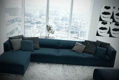 Modelos de Sofás Modernos - http://www.espacomulher.org/modelos-de-sofas-modernos/