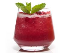 Whiskey-Cranberry Slushes #FNThanksgiving