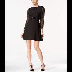 Maison Jules Samantha Bow-Detail Dress
