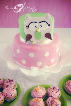 Girly Owl Birthday Bash.....Amanda needs this for her birthday cake Owl First Birthday, Birthday Bash, First Birthday Parties, Girl Birthday, First Birthdays, Birthday Ideas, Owl Cakes, Dessert Recipes, Desserts