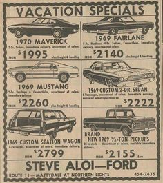 A sub dedicated to the world's most popular pony car. If you love Ford Mustangs and just about anything related to them, you can probably find. Old Advertisements, Car Advertising, Bicicletas Raleigh, Ford Classic Cars, Classic Trucks, Retro Ads, Us Cars, Old Ads, Ford Motor Company