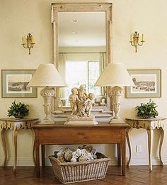 French Country Style Kudos to home-decor :)
