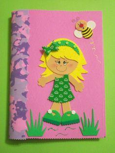 capa de caderno menininha - Pesquisa Google