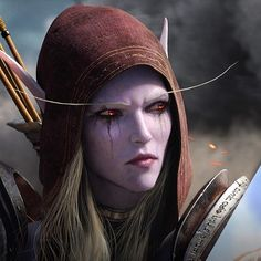 Battle for Azeroth - Can't wait! World Of Warcraft Characters, Fantasy Characters, Zbrush, Game Art, Lady Sylvanas, Banshee Queen, Dark Tide, Sylvanas Windrunner, For The Horde