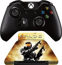 Controller Gear Halo 2 Anniversary  Controller Stand  Officially Licensed  Multi  Xbox One -- Click image to review more details.(It is Amazon affiliate link) #followback