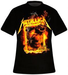 T-Shirt Mec METALLICA - Jump In The Fire - T-Shirts - www.rockagogo.com