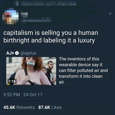 "20 Late Stage Capitalism Memes That Will Seize Your Laughter - Funny memes that ""GET IT"" and want you to too. Get the latest funniest memes and keep up what is going on in the meme-o-sphere. Intersectional Feminism, Social Change, Tumblr, Faith In Humanity, Social Issues, Social Justice, Thought Provoking, True Stories, Equality"