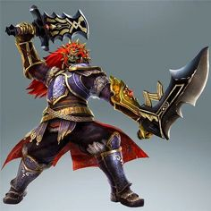 Ganondorf is a confirmed playable character in Hyrule Warriors for the Wii U! Twilight Princess Characters, Legend Of Zelda Characters, Fictional Characters, Saga, Zelda Hyrule Warriors, Space Hero, Seven Knight, Dynasty Warriors, Warriors Game