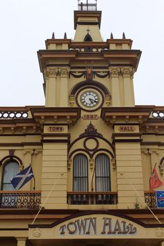The beautiful Glen Inne Town Hall.
