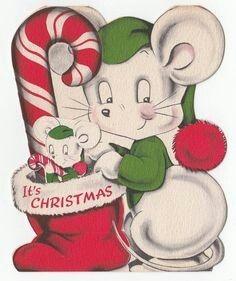 Christmas mice