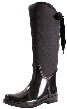 Coach Tristee A7429 Women's Rain Riding Boots Signature *** Continue to the product at the image link.