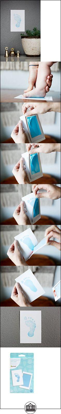 Pearhead Newborn Baby Handprint or Footprint Clean-Touch Ink Pad, 2 Uses, Blue by Pearhead  ✿ Regalos para recién nacidos - Bebes ✿ ▬► Ver oferta: http://comprar.io/goto/B019MOL7OW