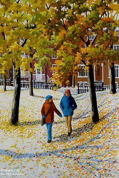 """Rémi Clark - """" Sur un tapis de neige en fleur """""""
