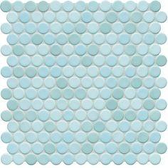 Sonoma Penny Rounds | LIGHT AQUA BLUE
