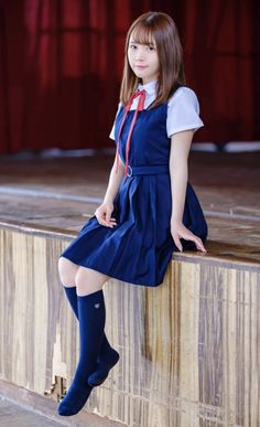 🐣天瀬音羽🐥 School Uniform Fashion, School Uniform Girls, School Girl Japan, Japan Girl, Schoolgirl Style, Sexy Socks, Cute Asian Girls, Cosplay Outfits, Western Outfits