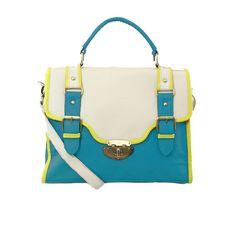I love the Nila Anthony Color Block Belted Structure Bag from LittleBlackBag