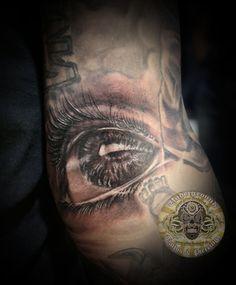 tattoo eye 3d bloody - Szukaj w Google