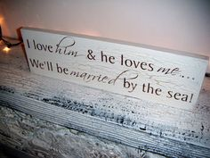Beach Seaside Destination Wedding Signs Save The by AndTheSignSays, $30.00