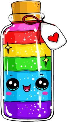 Kawaii Girl Drawings, Cute Food Drawings, Cute Animal Drawings Kawaii, Cute Little Drawings, Mini Drawings, Cute Cartoon Drawings, Cute Girl Drawing, Art Drawings For Kids, Kawaii Disney