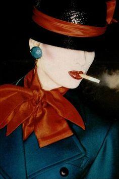 L'Officiel #679, 1982 Photographer: Claus Wickrath. Yves Saint Laurent, Spring 1982 (RTW).