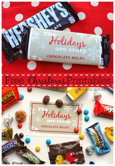 free holiday printables from a girl and a glue gun