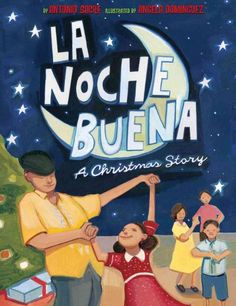 La Noche Buena: A Christmas Story by by Antonio Sacre. While spending Christmas with her Cuban American grandmother in Miami, Florida, young Nina misses her usual New England holiday but enjoys learning about the foods and other traditions her father knew as a child.  WALSH JUVENILE  PZ7.S1226 N62 2010