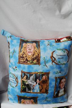 Wizard of Oz Baby Quillow / Blanket / Quilt by loriscountrycorner, $28.95