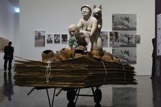 La sculpture controversée.