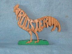 Hey, I found this really awesome Etsy listing at https://www.etsy.com/listing/84944229/rooster-handmade-scroll-saw-wooden
