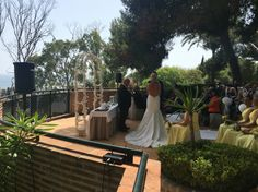 Wedding ceremony in Marbella