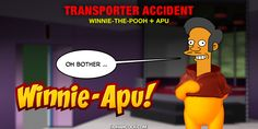 PopFig: Oops! Winnie-the-Pooh Plus Apu