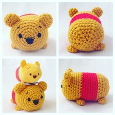 Happy #friday!  I had made this #pooh before the tsum tsums came to the USA. I…