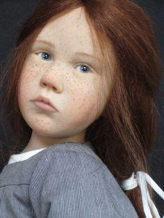 novnoirblanc/ruet --Laurence Ruet dolls. Those freckles!