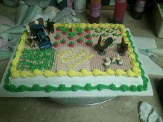 Farmers 80th birthday cake Kids Stuff Pinterest 80th birthday