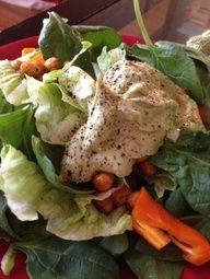 Tahini Avocado Salad