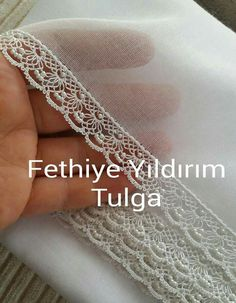 This Pin was discovered by Şeh Couture Embroidery, Beaded Embroidery, Cross Stitch Embroidery, Hand Embroidery, Embroidery Designs, Needle Lace, Needle And Thread, Knitting Patterns, Crochet Patterns