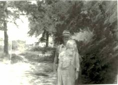 At first glance this ghost picture looks like nothing more than a simple double exposure. That is, however, until you find out that the woman standing in front of the man had been dead for years at the point in which the photograph was taken. She was the man's dead wife but yet she showed up in the ghost picture.