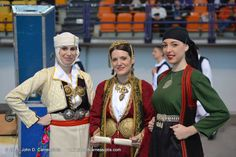 Traditional costumes from Epirus - Greece , φορεσιές από την Ήπειρο , Πωγώνι , Ιωάννινα και Ζαγόρι