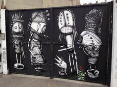 Street Art / Black & White / Paris 18